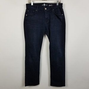 7 For All Mankind Standard Straight Jeans 30x31